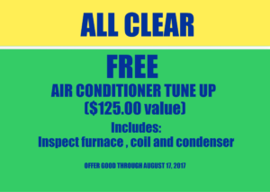 Free Air condition tune up