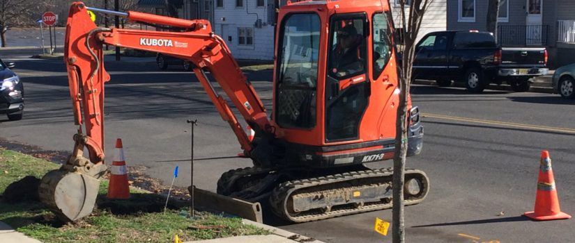 New Sewer Line Installation