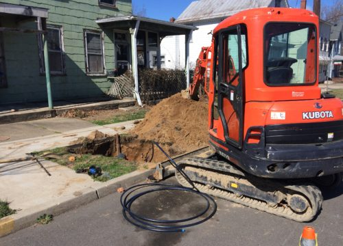 Sewer Line Installation using Trenchless Technology